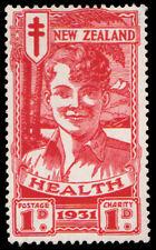 New Zealand Scott B3 1d+1d Boy Health Semi-postal.