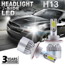 H13 LED Headlight Kit For Dodge Ram 1500 2500 Dakota Durango Grand Caravan Bulbs
