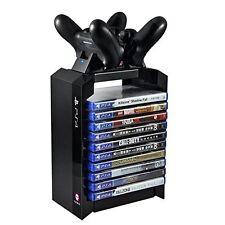 OFFICIEL SONY PS4 Jeux Support TOUR & Double Chargeur Dock de chargement NEUF