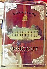 Ancien Miroir Publicitaire de Bar Vintage champagne Bricout depuis 1820 mirror