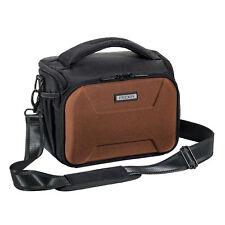 Kameratasche XL Schultertasche mit Hartschalenfront und Regenschutz Foto Tasche