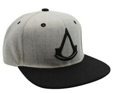 Cappello Assassin's Creed Black Crest Logo Grey Cap Hat ABYstyle