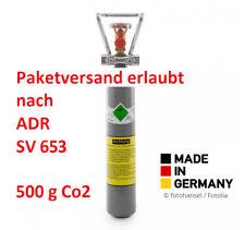 500g CO2 Flasche Aquarium inkl. 0,5 kg Kohlensäure, NEU & VOLL, SV 653 Germany