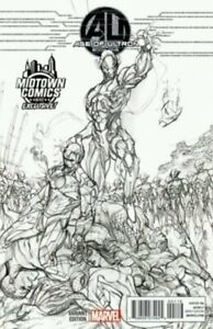 Age of Ultron #1 Midtown Exclusive J Scott Campbell VARIANT SKETCH&COLOR SET NM.