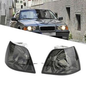 Left+Right 2 Front Turn Signal Light Lamp Set Kit For BMW E36 4DR 328i 318i 325i