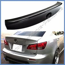 Wide Style PAINTED Trunk Spoiler Boot Wing For 2006-13 LEXUS IS250 IS350 ISF 4DR