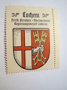 Cochem / Reklamemarke Kaffee Hag - Wappen