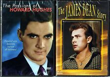 The Passions of Howard Hughes (DVD) & The James Dean Story (DVD)