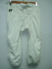 Youth Football Pants Polyester White Snaps Medium NW