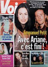 1999: EMMANUEL PETIT_Mariage VINCENT PEREZ_ADRIANA KAREMBEU_ORNELLA MUTI