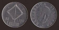100 LIRE 1974 GUGLIELMO MARCONI  - ITALIA