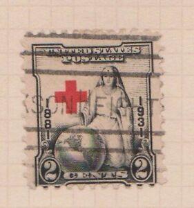 (USV-16) 1931 USA 2c 50th anniversary of Red Cross (P)