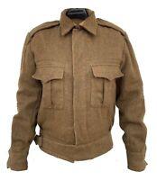 Repro WW2 British Army 37 Pattern Battle Uniform Tunic - Khaki Color