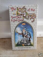 LORD OF THE RINGS TAROT DECK CARDS GAME BOOK ORACLE SPIRITUAL MYTH FOLKLORE CAT