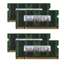 4pcs 2GB 2Rx8 PC2-5300S DDR2 667Mhz 200pin Laptop Memory Unbuffered Kits @MY