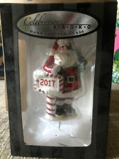 Celebrations by Radko - 2017 Santa Claus Hand Crafted Christmas Ornament!
