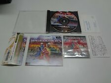 The Ninja Warriors W/ Spine + Reg Card + Mini CD FULL Sega Mega CD Japan NMINT