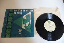 COCKTAIL DE MUSIQUE DE FILM 25CM ANTON KARAS EDUARD MRAZEK HANS HAGEN PATHE VOX