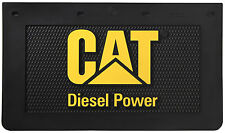 "Caterpillar CAT Diesel Power 24"" x 14"" Semi Truck Mud Flaps/Splash Guards-Pair"