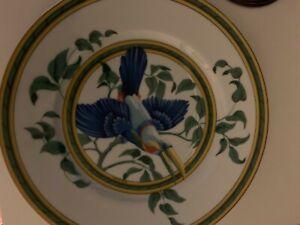Hermes Toucan Dessert Luncheon Plate