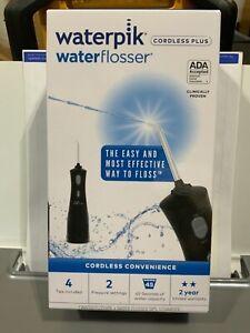 Waterpik WP-462W Waterflosser Cordless Plus - Black NEW