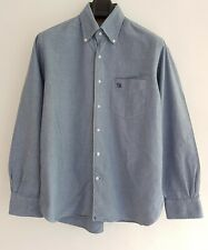 """HILDITCH & KEY Jermyn Street Men's Light Blue Long Sleeve Cotton Shirt. Size 16"""""""