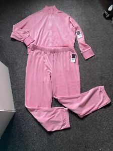 juicy couture Velvor pink tracksuit