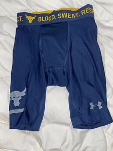 Men's Under Armour The Rock Project Compression Running Shorts Small S