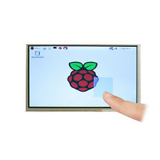 "7"" TFT LCD Touch Screen + Driver Board HDMI VGA 2A for Raspberry Pi 3 Model B"