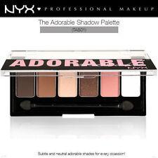 NYX Matte Eye Shadow Palettes