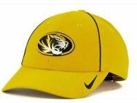 "Missouri Tigers Gold NCAA Nike ""Coaches"" Legacy 91 Adjustable Hat"