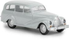 """Emw 340, """" FAMILIARE """" grigio chiaro, TD, H0 modello auto 1:87, BREKINA 27352"""