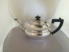 LOVELY SILVER PLATED TEA POT ON A RAISED FOOT (G & CC)  (SPTP 196A)