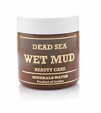 500g Dead Sea wet mud from Jordan•Natural Mineral clay•musk•purify facial•detox•