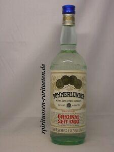 Bommerlunder Original 1760 0,7 L. 40% 70er Jahre Der große Klare