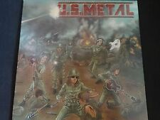 """U.S METAL - Unsung Guitar Heroes"" Original LP. 1st press. Compilation. RARE !"