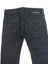 Diesel Safado Jeans Men's Denim Italy 30 X 31 Designer black dark blue