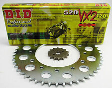 KTM 495 MX, D.I.D VX2 Chain and Sprocket Set