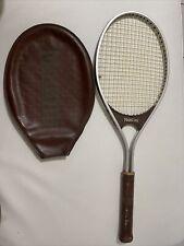 Vintage Rare Carlo Montini Aluminum tennis racquet, 4 1/2, Good Condition.