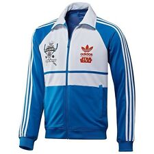 Adidas Star Wars Varsity Track Jacket Top Luke Skywalker Size M Rare!!!!