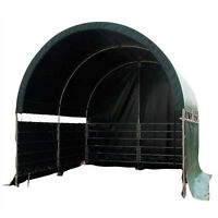 Seitenplanen-Set Unterstand 4 x 4 x 3,15m Halle Winddicht PVC-Plane 610 Gramm//m²
