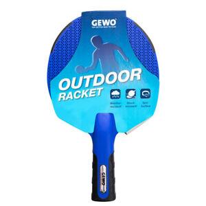GEWO Outdoor-Schläger AWR Tischtennisschläger Freizeit Einsteiger wetterfest