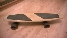 Vintage soviet Ussr russian wooden skateboard 4