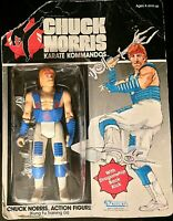 Chuck Norris Kung Fu Training, Karate Kommandos - Vintage 1986 Action Figure MOC