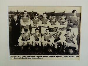 Amateur football team print PRESTWICH A.F.C.