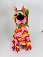 "Scooby Doo Plush Toy Factory 9""Multicolor Zig Zag Chevron Pattern Plush"