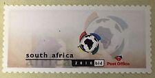 South Africa 2004 Machine labels FIFA 2010 bid, MNH, virtual stamp, SOCCER