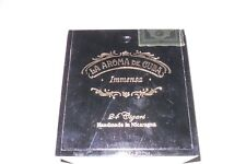 "LA AROMA DE CUBA Immensa Wood Cigar Box Holds 24 Cigars ""Must See"""