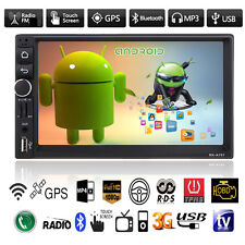 """GPS Nav 7"""" Android 4.4 Double 2DIN Car Stereo MP3 MP5 Player Bluetooth FM Radio"""