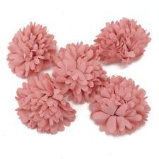9pcs 80mm Big Ribbon Flowers Bows Rose Wedding Craft Decor Appliques MIX Lots